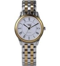 Longines Yellow Yellow Gold And Stainless Steel Watch