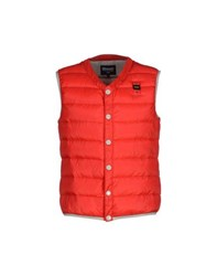 Blauer Coats And Jackets Down Jackets Men Red