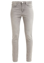 Opus Elma Slim Fit Jeans Light Dusty Grey Grey Denim