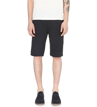 Folk Draw Cord Ripstop Short Ripstock Black