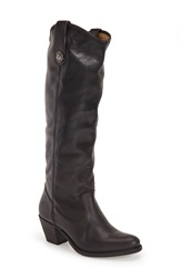 Frye 'Jackie Button' Tall Boot Women Black Leather