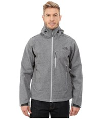 The North Face Apex Bionic Hoodie High Rise Grey Heather Men's Coat Gray