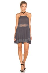 Free People Two For Tea Dress Gray