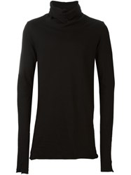 Lost And Found Ria Dunn Wrapped High Neck Top Black