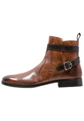 Melvin And Hamilton Henry 9 Boots Classic Tan Dark Brown Cognac