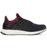 Adidas Sport Ultra Boost St Rubber Trimmed Primeknit Sneakers Navy