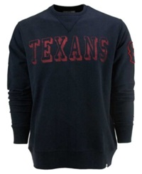 '47 Brand 47 Brand Men's Houston Texans Crew Sweatshirt Navy