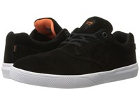 Globe The Eagle Black Orange White Suede Men's Skate Shoes