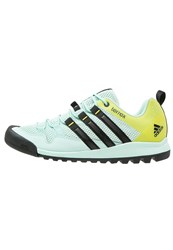 Adidas Performance Terrex Solo Walking Shoes Ice Green Core Black Vapour Steel