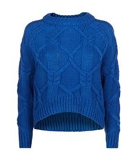 Finders Keepers White Lies Sweater Blue