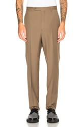 Lanvin Low Crotch Trousers In Neutrals