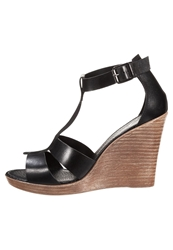 Zign High Heeled Sandals Nero Black