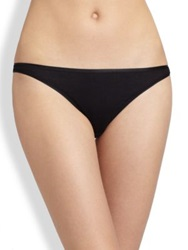 Hanro Cotton Seamless High Cut Brief Skin White Black