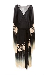 Talitha Rose Ombre Myra Wrap Black