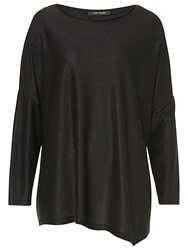 Betty Barclay Oversized Drop Shoulder Top Black