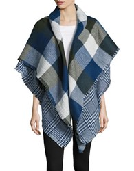 Collection 18 The Runway Wrap Scarf Navy Blue