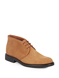 Saks Fifth Avenue Made In Italy Suede Chukka Boots Brown
