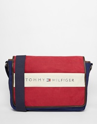 Tommy Hilfiger Lance Messenger Bag Red