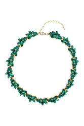 Eye Candy Los Angeles Leaf My Neck Necklace Green