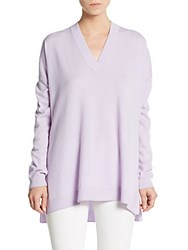 Vince Slim Fit V Neck Sweater Waterlily