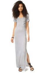 Haute Hippie T Shirt Dress Light Heather Grey