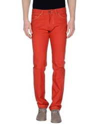 Heaven Two Casual Pants Brick Red