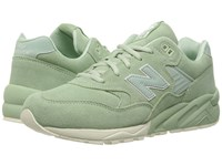 New Balance Mrt580 Mint Suede Mesh Men's Classic Shoes Green