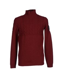 Nanibon Knitwear Turtlenecks Men Maroon