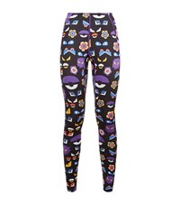 Fendi Wonders Monster Leggings Female Black