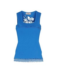 Vdp Club Topwear Vests Women Azure