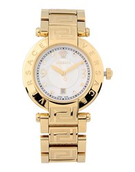Versace Timepieces Wrist Watches Women Gold