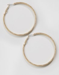 Paper Dolls Hoop Earrings Gold