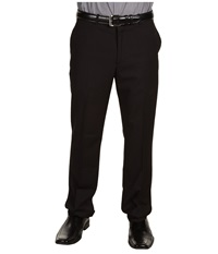 Perry Ellis Slim Fit Solid Pant Black Ice Men's Dress Pants