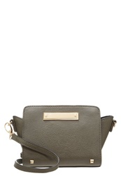 Miss Selfridge Across Body Bag Darkgreen Khaki