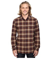 Volcom Martens Heavy Weight Lined Flannel Gravel Men's Clothing Silver