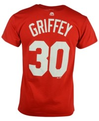 Majestic Men's Ken Griffey Sr. Cincinnati Reds Cooperstown Player T Shirt