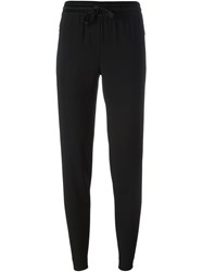Dkny Tapered Track Trousers Black