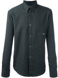 Christophe Lemaire Classic Button Down Shirt Grey