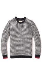 Native Youth Contrast Cuff Pullover