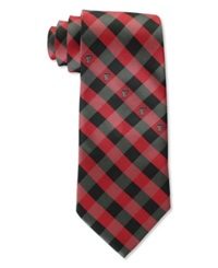 Eagles Wings Texas Tech Red Raiders Checked Tie