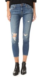 J Brand Low Rise Crop Skinny Jeans Mischief