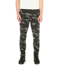 Bjorn Borg Camouflage Print Jersey Jogging Bottoms Black