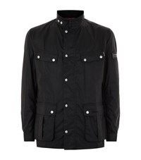 Barbour International Enfield Waxed Jacket Male Black