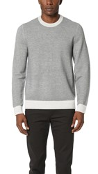 Theory Blakes Wool Crew Sweater Mist