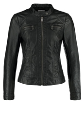 Only Bandit Faux Leather Jacket Black