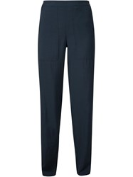 Christophe Lemaire Lemaire Relaxed Pants Blue