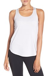 Under Armour Women's 'Fly By' Running Tank Grey Water Reflective