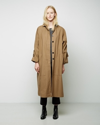La Garconne Moderne Drafting Trench Coat Khaki