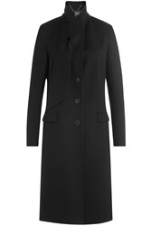 Salvatore Ferragamo Virgin Wool Coat White