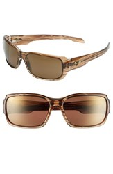 Women's Maui Jim 'Hamoa Beach' 61Mm Sunglasses Rootbeer